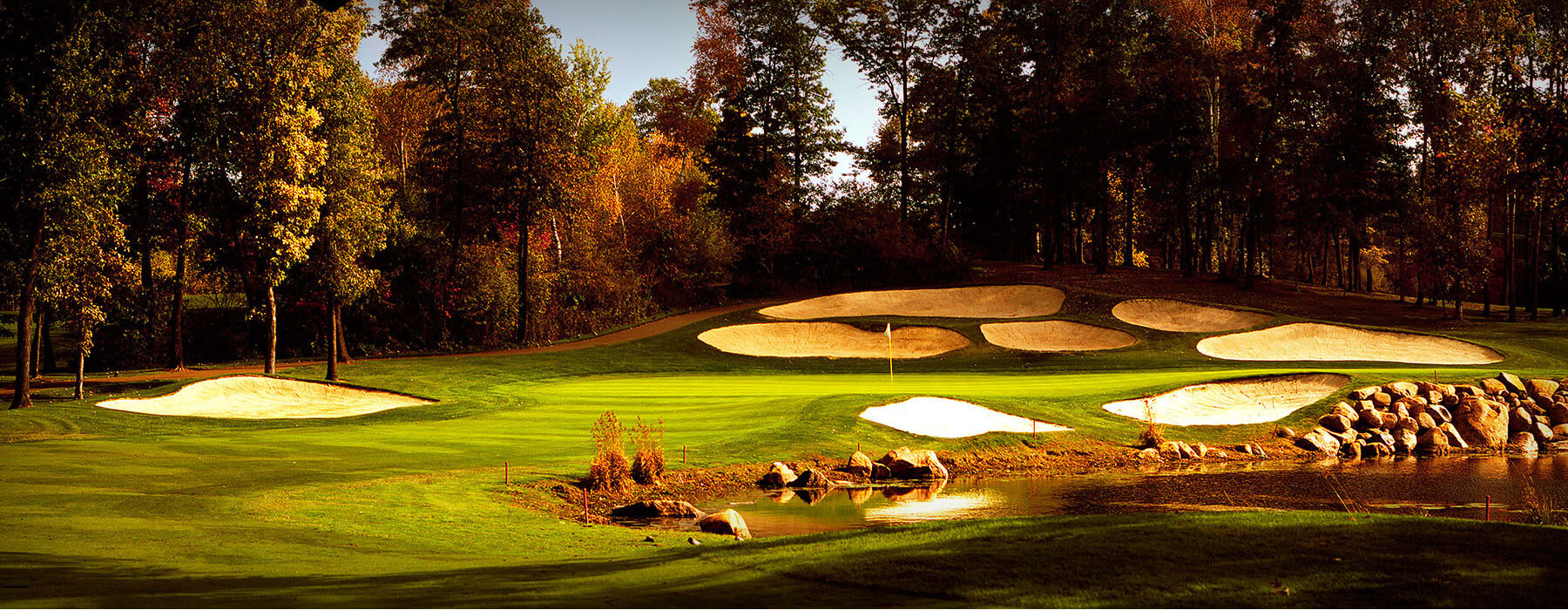 The Classic Tour Hole 1 at Madden's Resort in Minnesota
