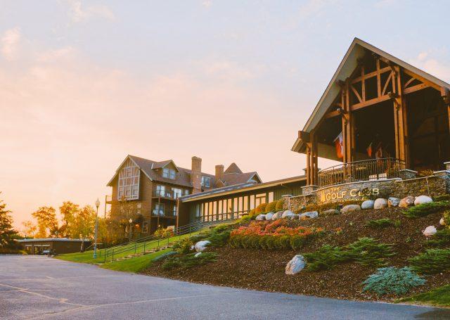Maddens Golf Club Exterior