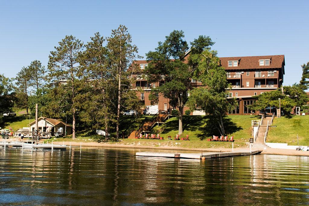 Madden Inn from Gull Lake