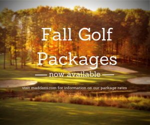 Fall Golf Packages