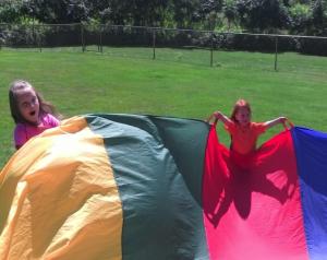 Adventure Cove parachute