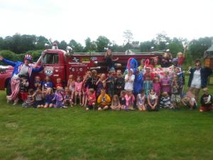 Adventure Cove Fire Truck