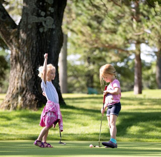 Golfing for kids