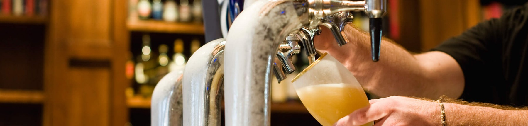 Cold beer at Madden's restaurants in Brainerd MN