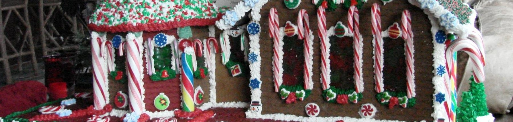 Gingerbread house from Madden's