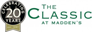 The Classic at Madden's logo - celebrating 20 years