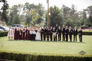 Wedding party at Tennis & Croquet Club