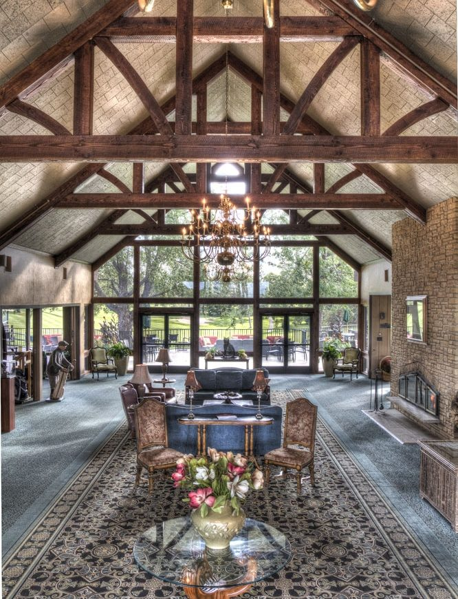 Lobby at Madden Inn & Golf Club