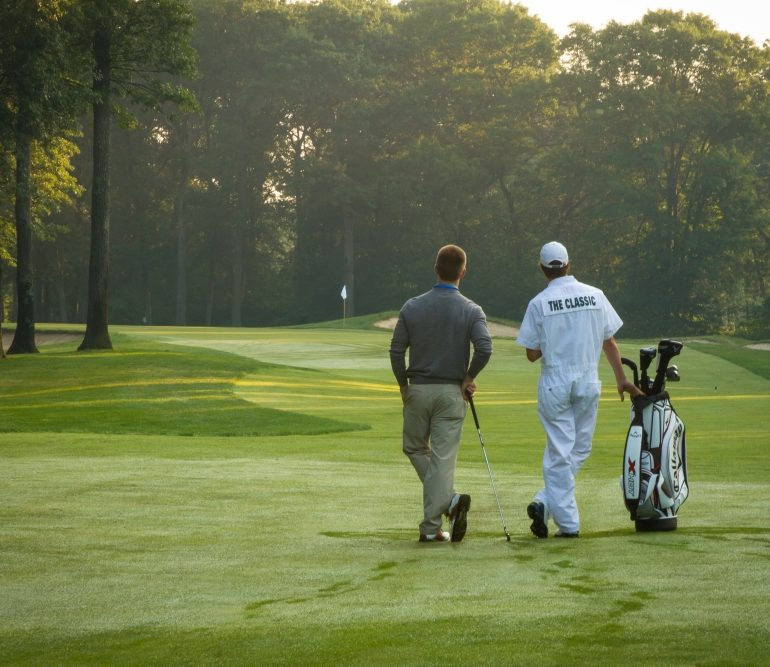 The Classic at Madden's Offers New Caddie Services