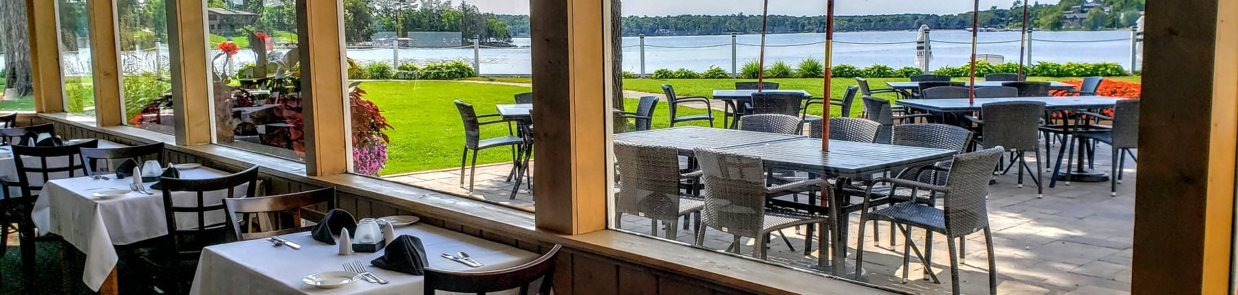 View of Lake From Restaurant