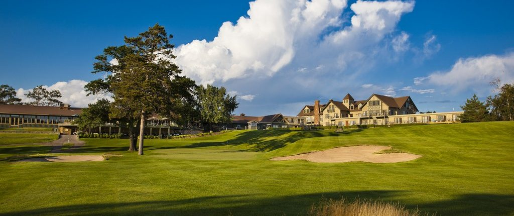 Shot of Clubhouse at Maddens Pine Beach East