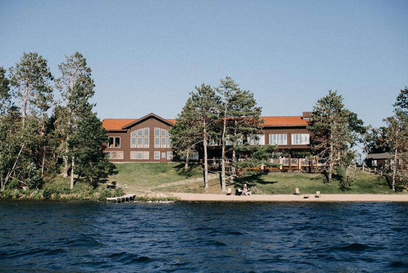Wilson Bay from Lake