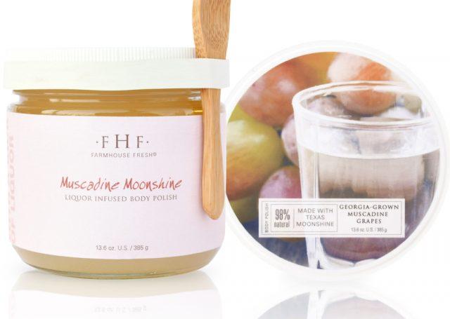 Muscadine Moonshine body polish