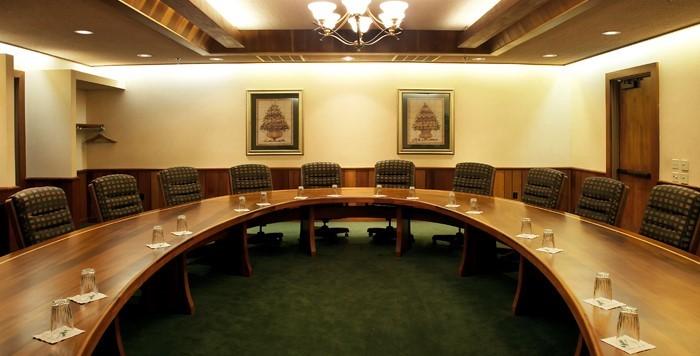 Olson Board Room setup and layout