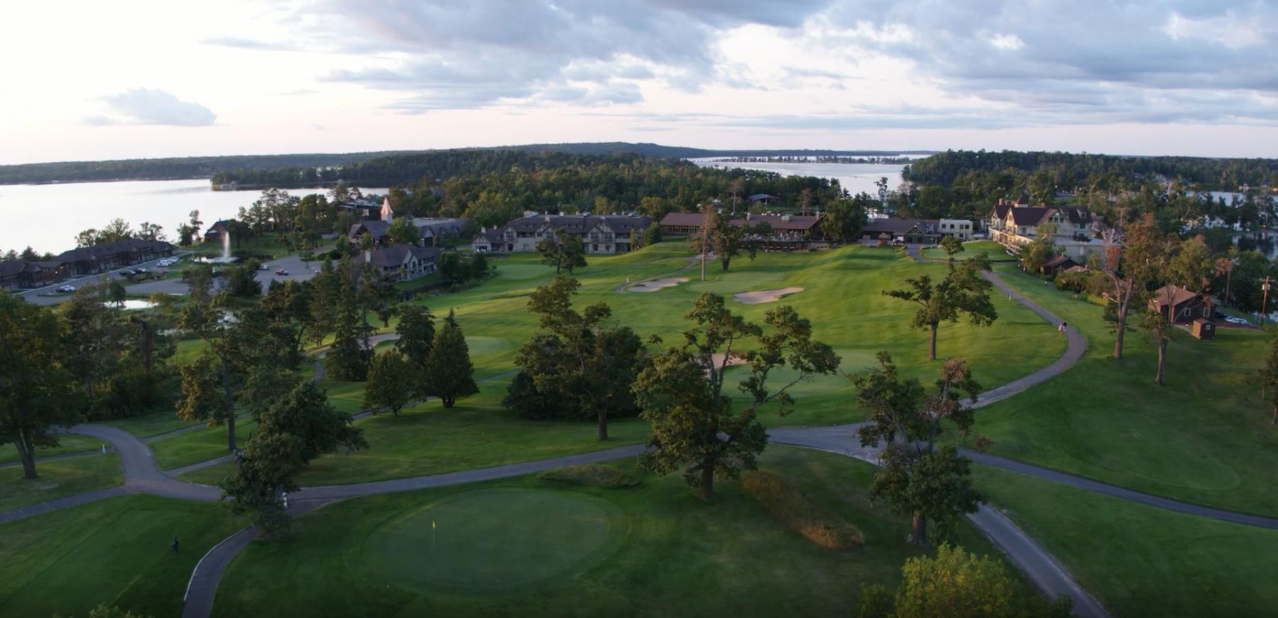 Aerial of Madden's Resort