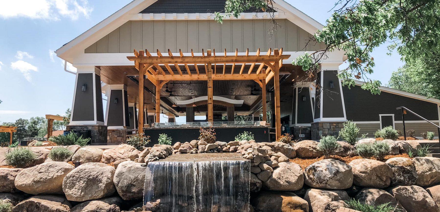 Pavilion Water Feature
