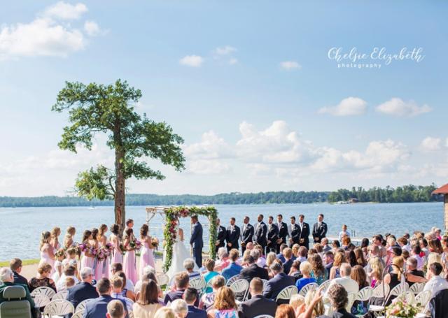 Wilson Bay Beach Wedding (Chelsie Elizabeth Photography)