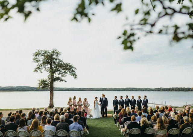 Wilson Bay Beach Wedding (Joe + Jen Photo)
