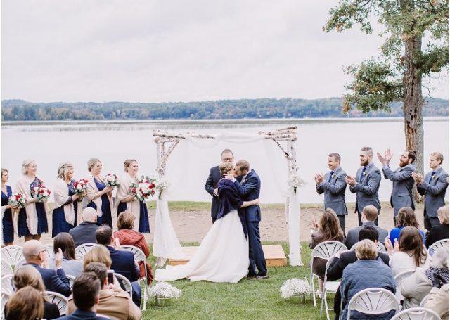 Wilson Bay Beach Wedding (Kristin Barbara Photography)