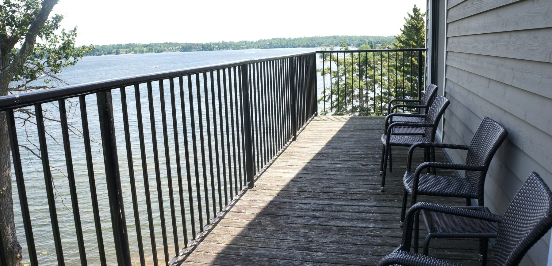 Lake House Balcony View