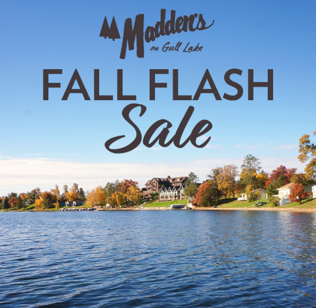 maddens on gull lake fall flash sale