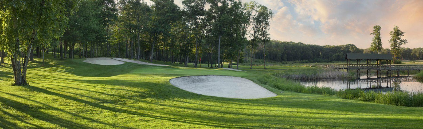 Award-winning golf experiences. Times four.