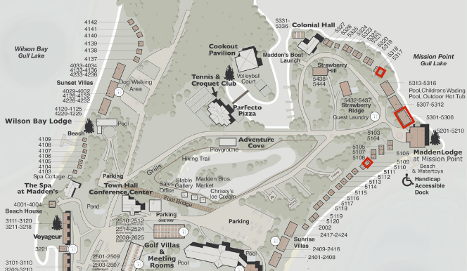 Mission Point Bayview 1 King Map