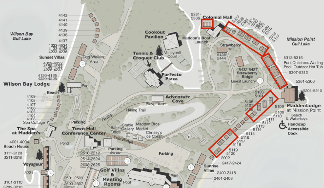 Mission Point Bayview 2 Queen Map