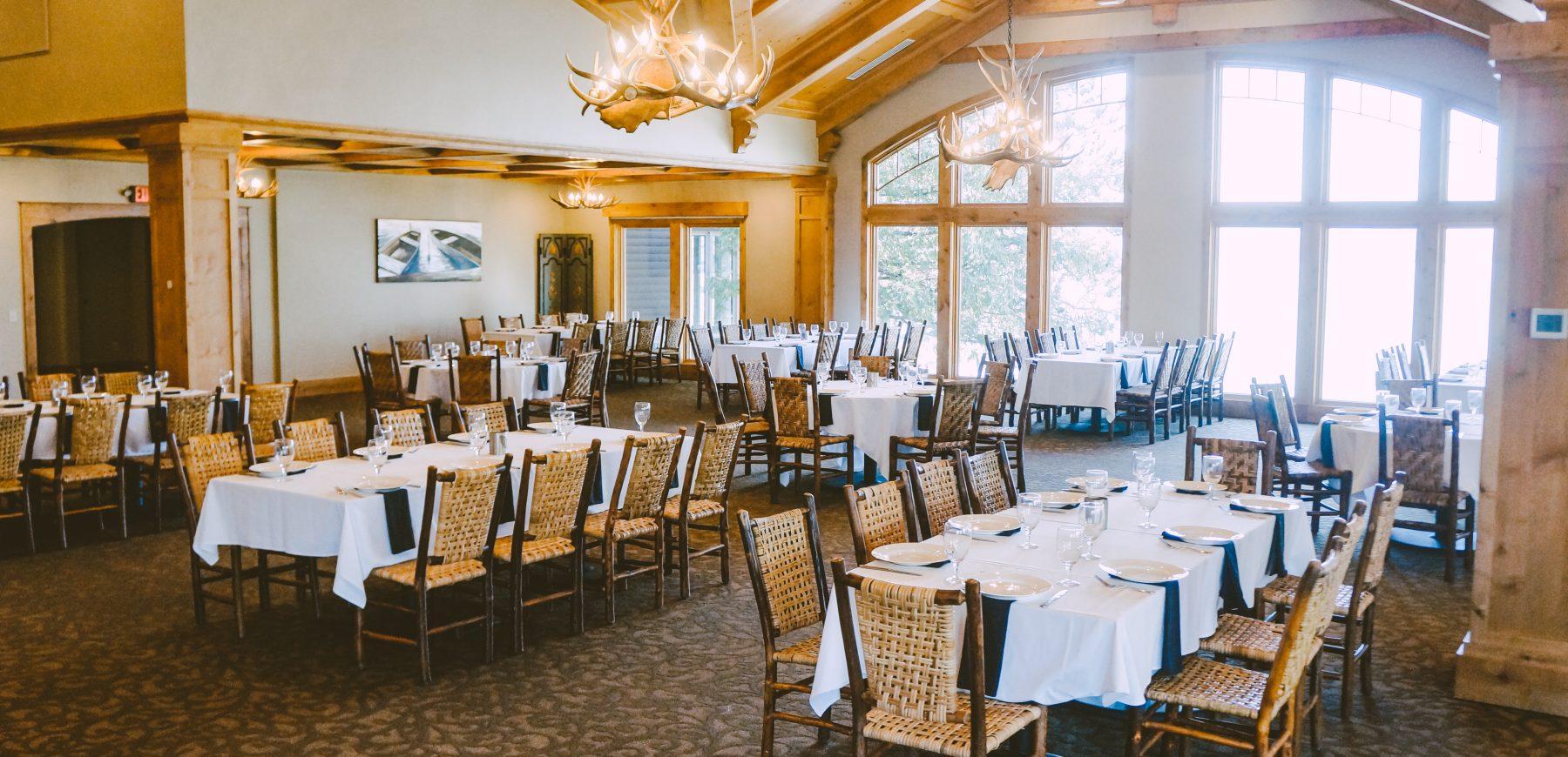 Wilson Bay Dining Room Social Distance 2