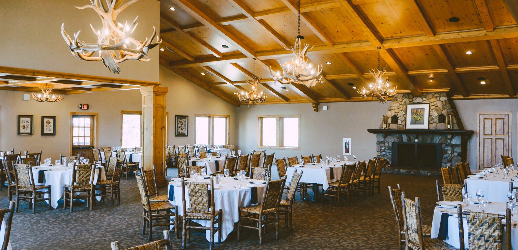 Wilson Bay Dining Room Social Distance 3