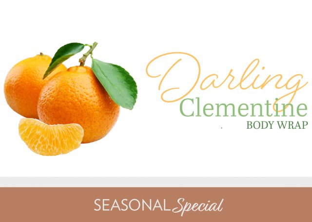 darling clementine body wrap