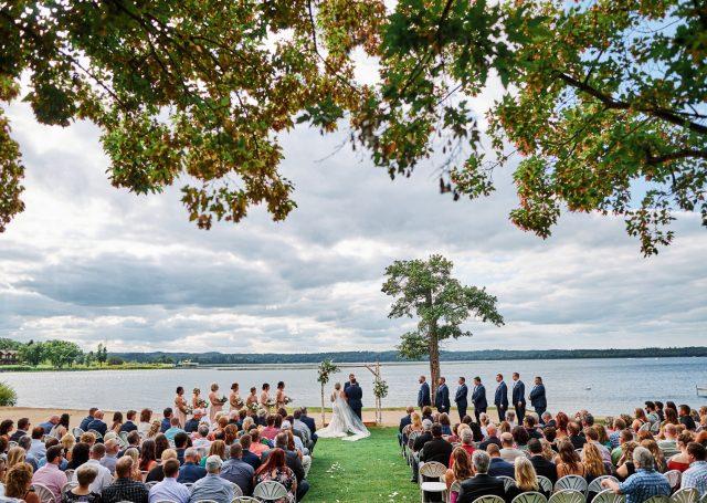 Wedding at Maddens Resort in Brainerd