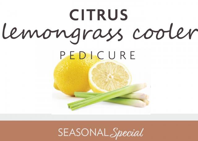 Citrus Lemongrass Cooler Pedicure