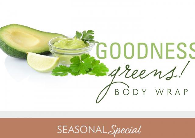 Goodness Greens Body Wrap