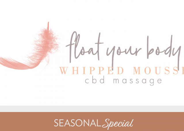 Float Your Body Whipped Mousse CBD Massage
