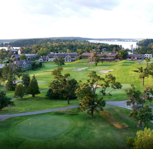 maddens golf course and resort from above