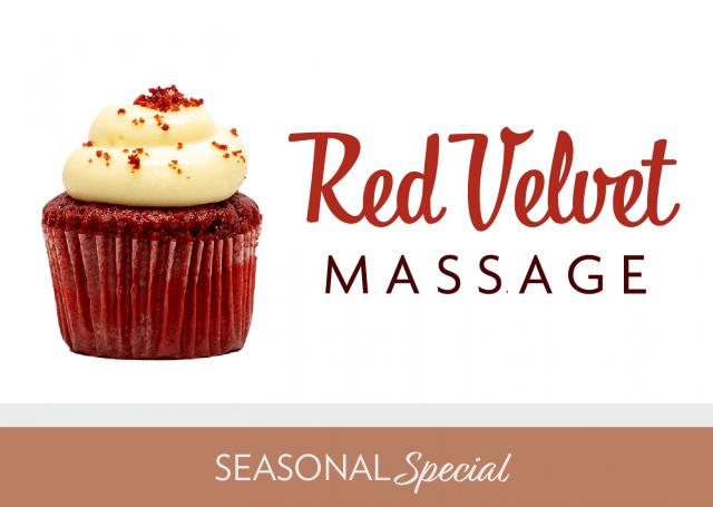 red velvet massage seasonal special
